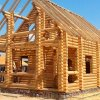 complete sets of wooden houses,  saunas, garden houses