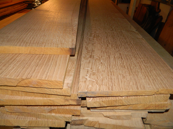Offer oak lumber boards timber for sale wood for Timber decking for sale